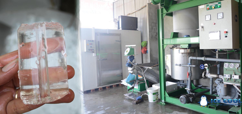 Máy sản xuất nước đá viên tinh khiết ICE COOL